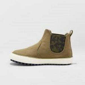 Size 9 NEW Cat /& Jack Toddler Boys/' Anton Casual Fashion Boots Olive